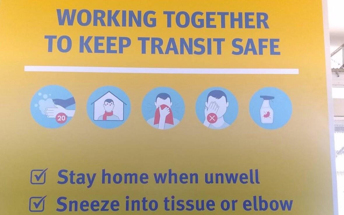 新型コロナウイルスと人々の対応